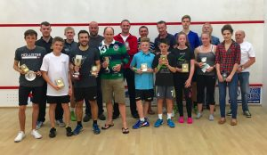 2016 Lincolnshire County Championship Finalists on the Glass back Court